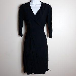 Ines De La Fressange| Uniqlo Midi Wrap Dress